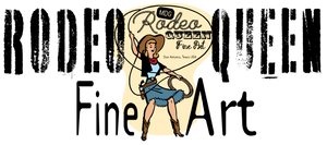 Rodeo Queen Fine Art