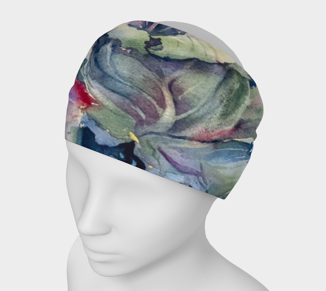 Headband Cabbage Adage Texas Watercolor Rodeo Queen Fine Art-Headband-Rodeo Queen Fine Art-Rodeo Queen Fine Art