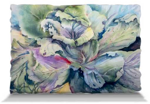 "Cabbage Adage | Pillows Pillowcase Only - Adult (30x20"") Mfg #: 1-5001-Pillows-Rodeo Queen Fine Art-Rodeo Queen Fine Art"