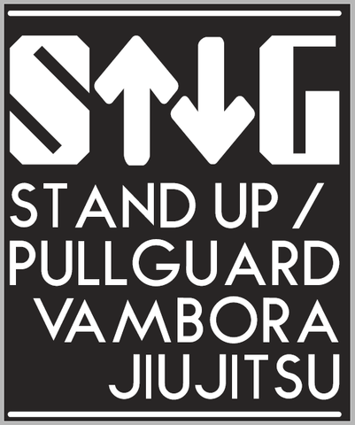 Stand Up/Pull Guard - BJJ Gi Patch