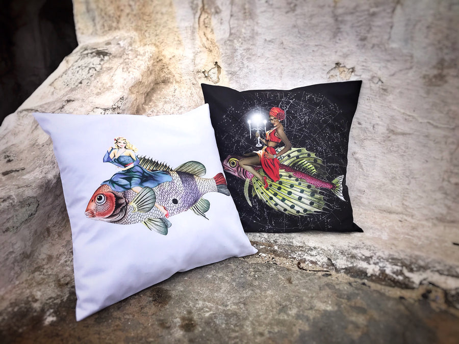 ART CUSHIONS. MAKE THE HARDEST PLACES SOFT.
