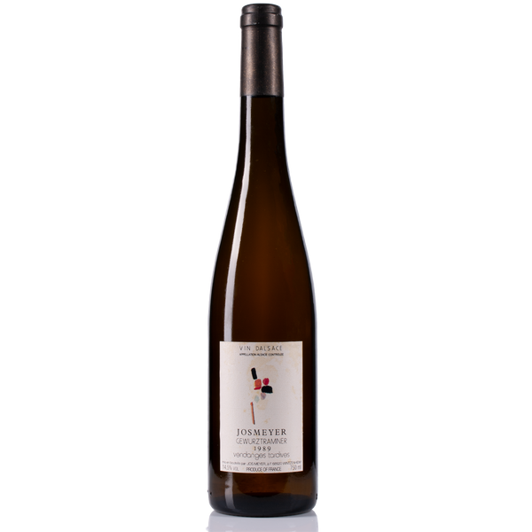 JOSMEYER Gewurztraminer Vendages Tardives 1989