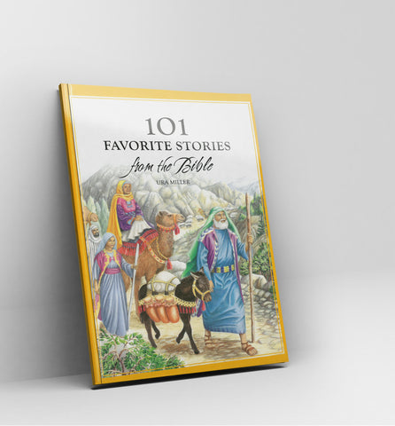 101 favorite stories from the Bible by Ura Miller-for children - Book