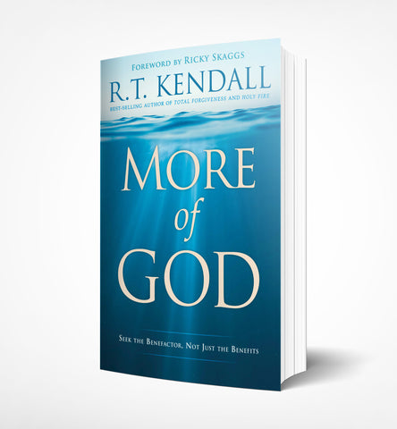 More of God by R.T. Kendall - book