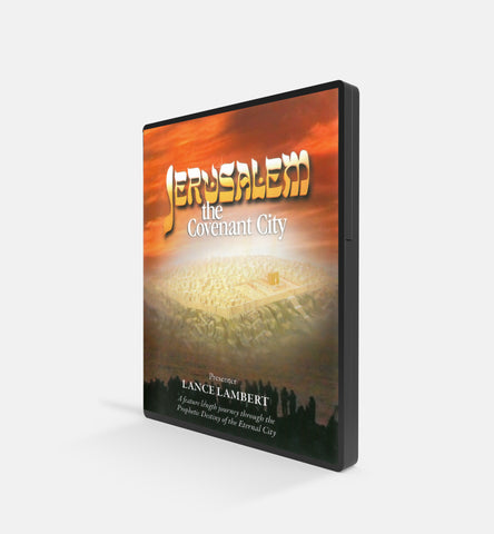 Jerusalem the Covenant City, Presenter Lance Lambert - DVD