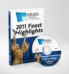 2011 Feast Highlights Israel A Light to the Nations DVD