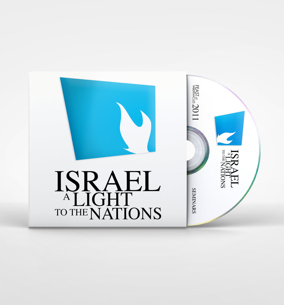 Michael Utterback 2011 Israel, a Light to the Nations - Let There be Light Seminar DVD