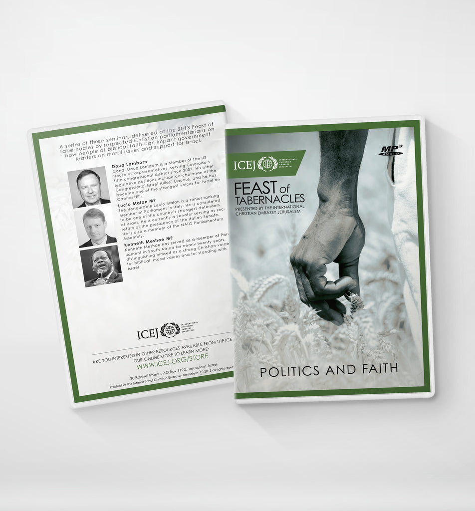 Politics and Faith Series 1-3 Audio mp3