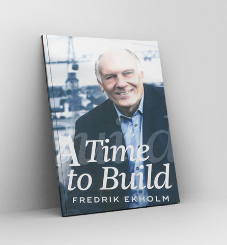 A time to build by Fredrik Ekholm - Book