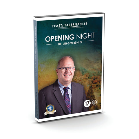 2017 Opening Night Jurgen Buhler  - DVD