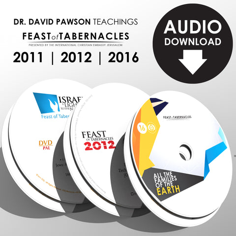 Dr. J. David Pawson's teaching series ( Feasts of Tabernacles) - Audio Download