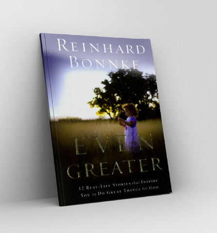 Even Greater  by Reinhard Bonnke - Book