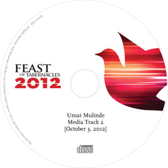 Discounted Umar Mulinde 2012 The Spirit of Grace and Supplication - Media Track 2 - Audio CD