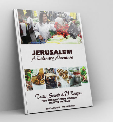Jerusalem, A Culinary Adventure - Book
