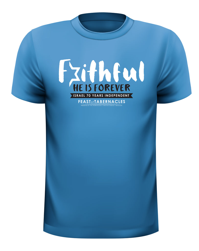 Faithful God T-Shirts 2018- T-shirts