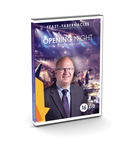 Jurgen Buhler Opening Night 2016 DVD