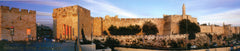 Panoramic postcard - Panoramic views of Jerusalem - souvenirs