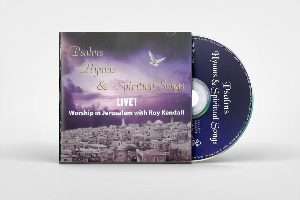 Psalms, Hymns, & Spiritual Songs- Live! - Roy Kendall - Music CD
