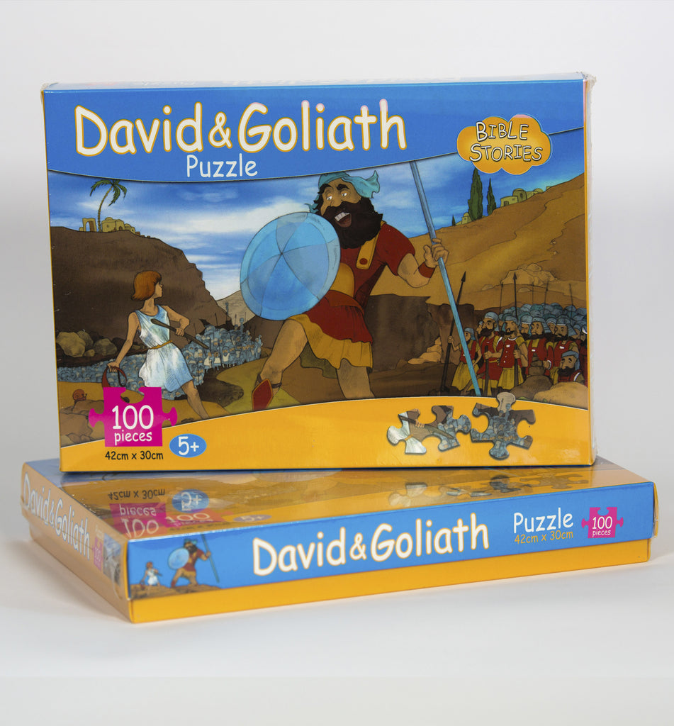 David & Goliath Puzzle - souvenirs (free shipping)