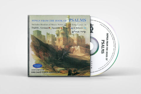 Song from the Book of PSALMS - Music CD