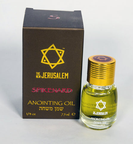The New Jerusalem - Anointing oil - 7.5ml Spikenard  - souvenirs