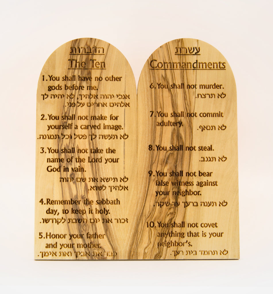 The Ten Commandments - large size
