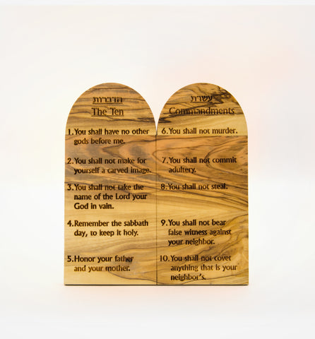 Ten Commandments - medium size