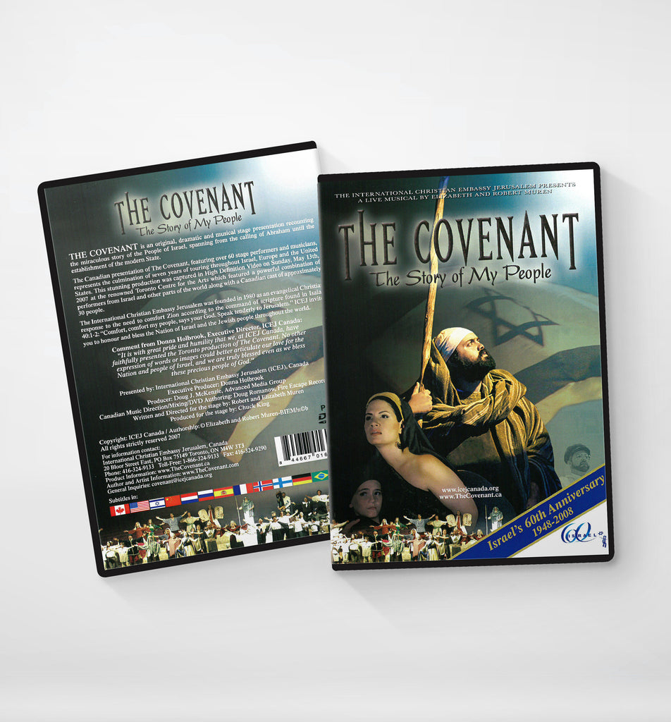 The Covenant, The Story of My People - DVD