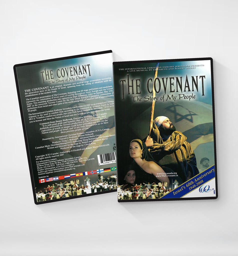 DVD,CD -EL PACTO, LA HISTORIA DE MI PUEBLO (THE COVENANT, THE STORY OF MY PEOPLE) -- Spanish