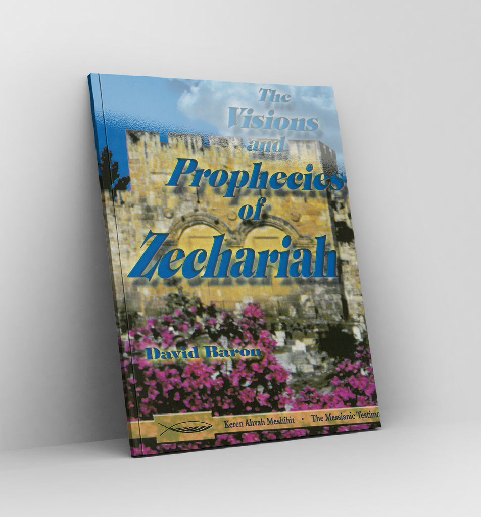 The Visions and Prophecies of Zechariah by David Baron - Book