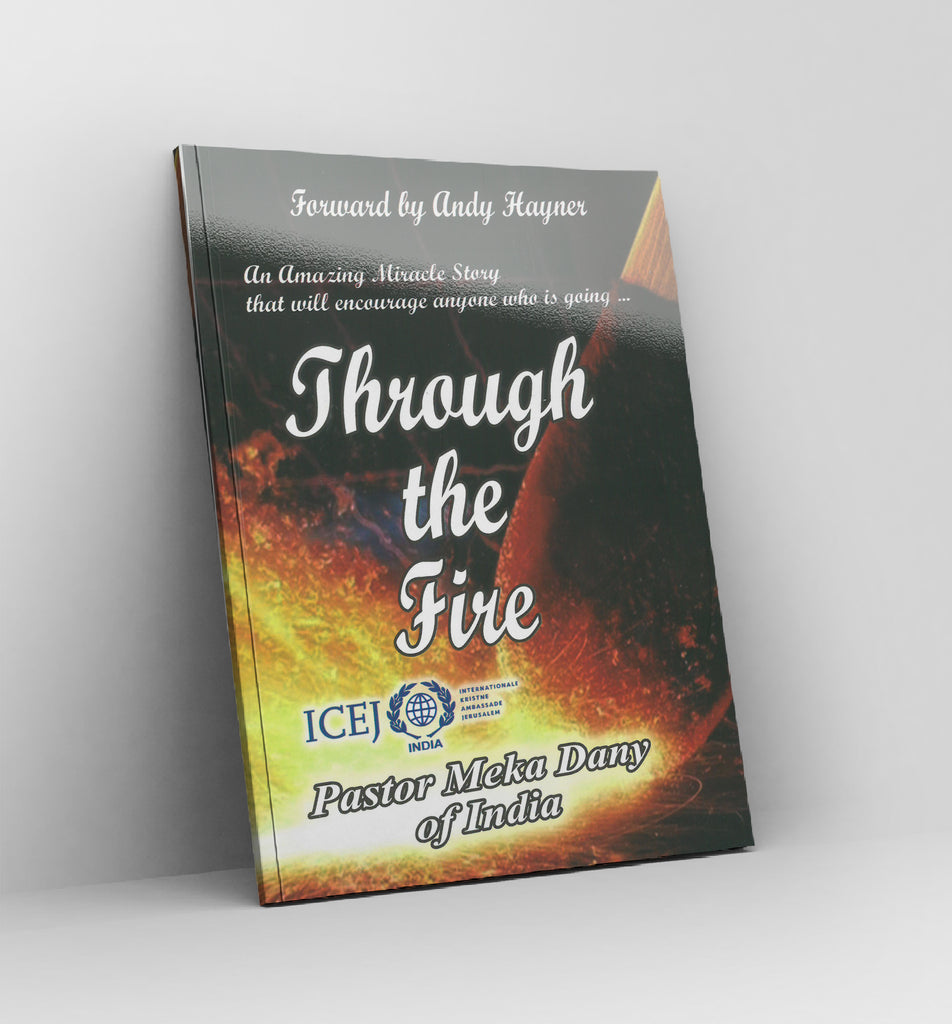 Through the fire, by pastor Meka Dany - Book