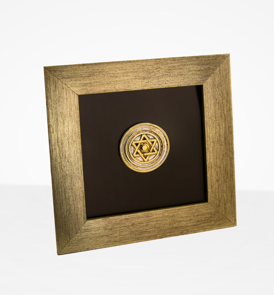 Commemorative Zion Mule Corps Medallion Plaque