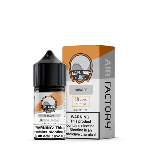 Air Factory Salt - Tobacco E-Liquid | 30mL - Vibe Vapes