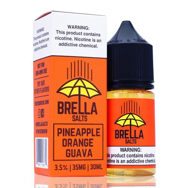 Brella Salts - Pineapple Orange Guava E-Liquid - Vibe Vapes