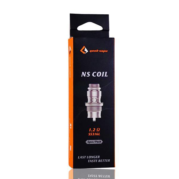 GeekVape - Frenzy NS Coils | 5-Pack - Vibe Vapes
