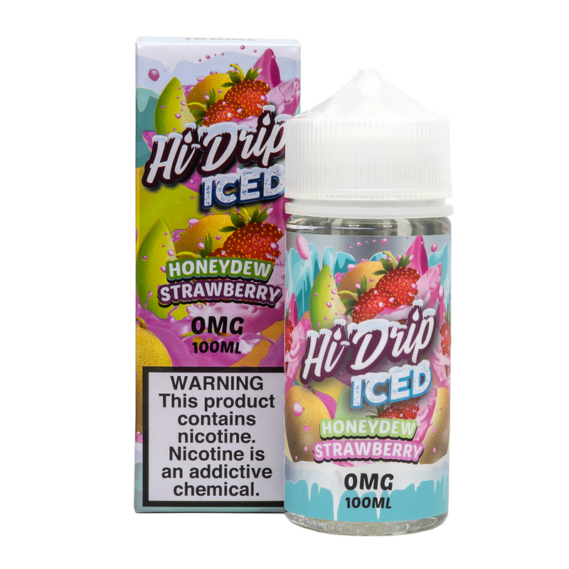 Hi-Drip - Dewberry ICED (Honeydew Strawberry ICED) E-Liquid - Vibe Vapes