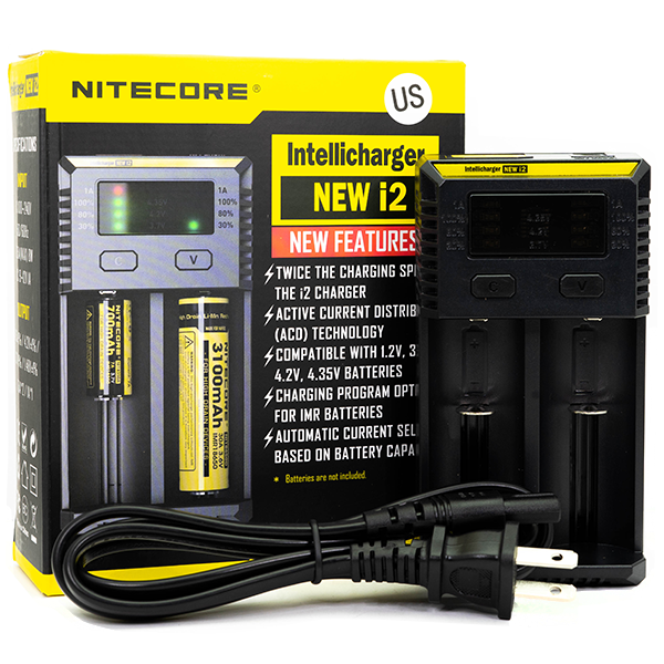 Nitecore - i2 Intellicharger Battery Charger - Vibe Vapes