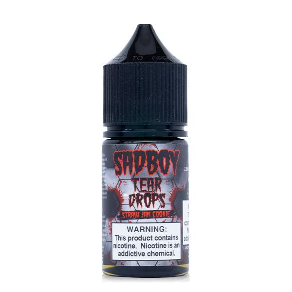 Sadboy Tear Drops Salt - Strawberry Jam Cookie E-Liquid - Vibe Vapes