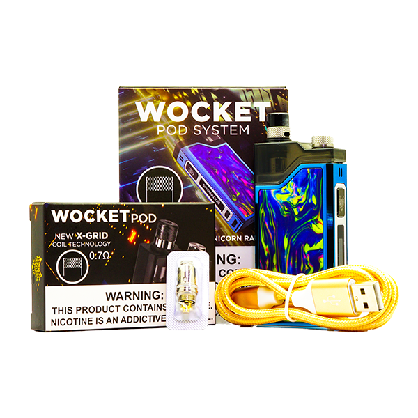 SnowWolf - Wocket Pod System Starter Kit - Vibe Vapes