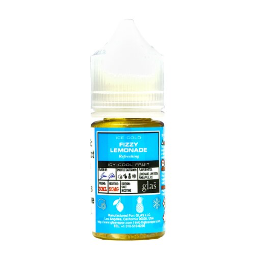 Basix Salt - Fizzy Lemonade E-Liquid - Vibe Vapes