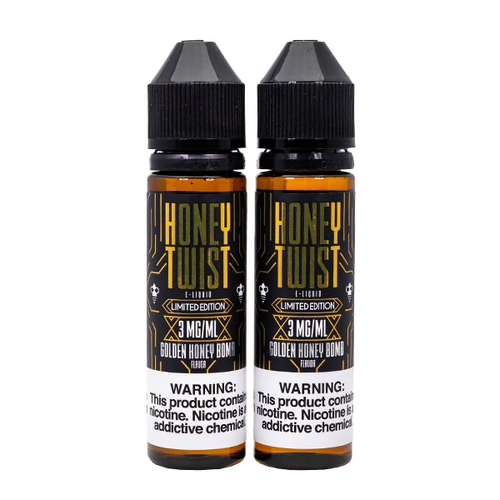 Honey Twist - Golden Honey Bomb E-Liquid - Vibe Vapes