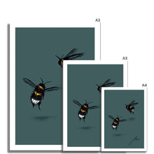 Load image into Gallery viewer, green bee artwork fine art prints various sizes