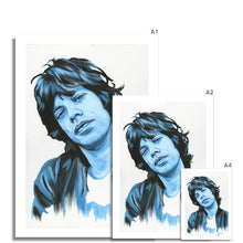 Load image into Gallery viewer, Mick Jagger Portrait Fine Art Print