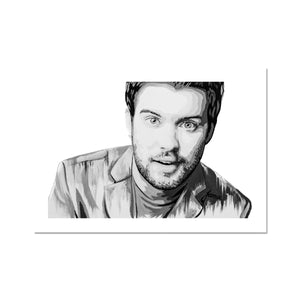 Jack Whitehall Portrait Fine Art Print (Original owned by Jack Whitehall)