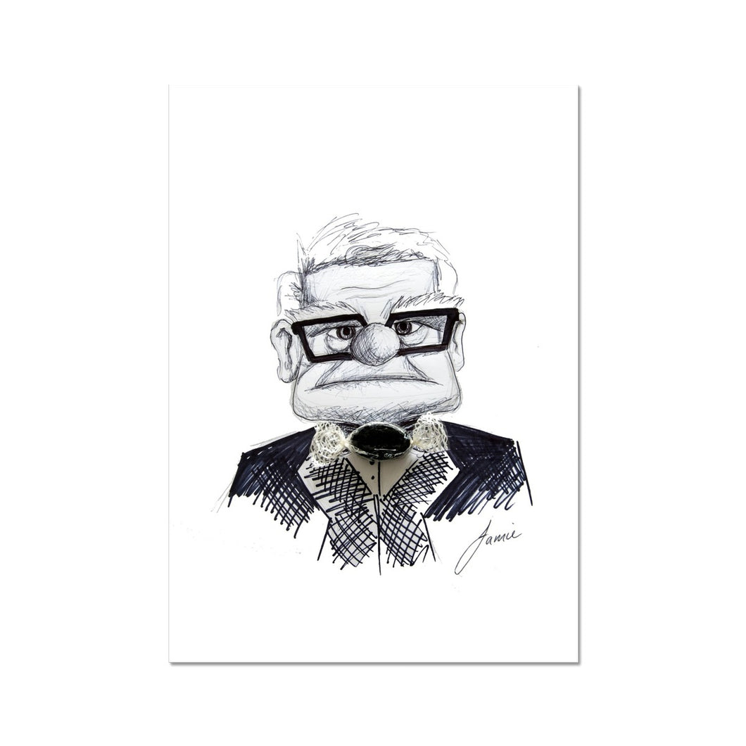 Grandpa (From the film UP) Fine Art Print