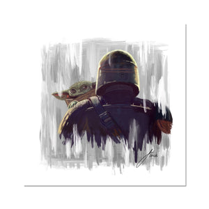 The Mandalorian (Star Wars) Fine Art Print
