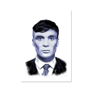 Thomas Shelby Portrait  Fine Art Print