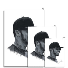 Load image into Gallery viewer, Lewis Hamilton Portrait  Fine Art Print