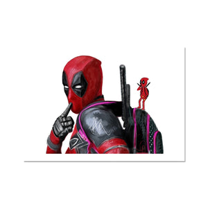 Deadpool Portrait Fine Art Print