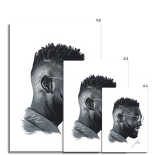 Load image into Gallery viewer, Musician Tinie Tempah Portrait Fine Art Print artwork various sizes